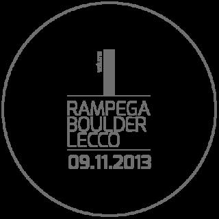 Studio e realizzazione logo Rampega Boulder Lecco