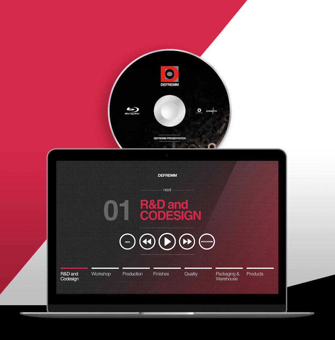 realizzazione video 3d aziendale Defremm