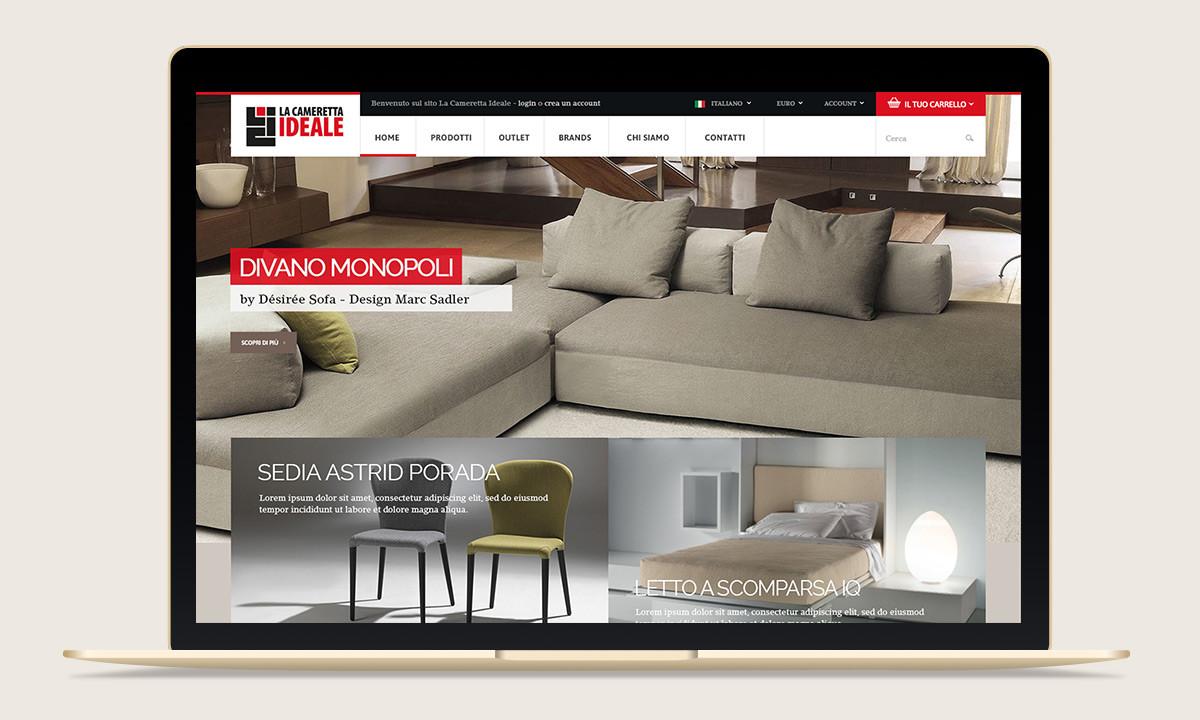 Realizzazione sito e commerce La Cameretta Ideale