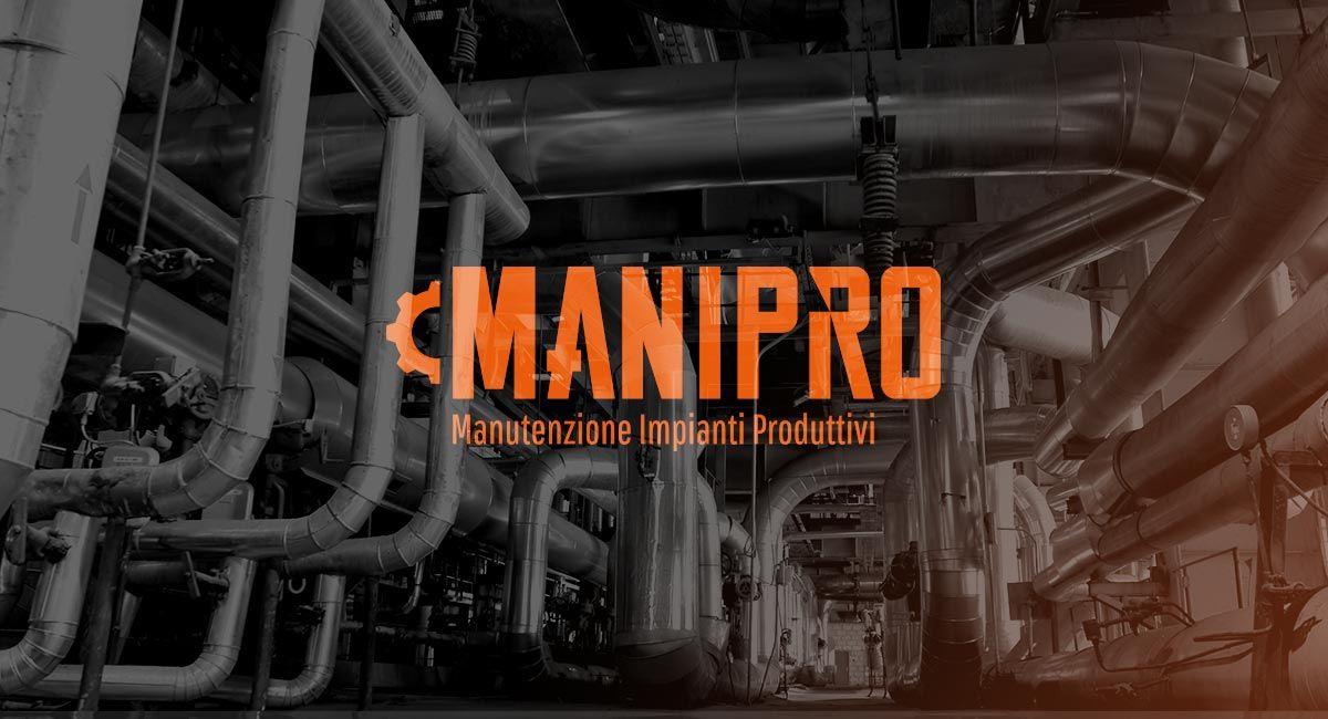 Studio e realizzazione logo Manipro Manutenzione impianti produttivi