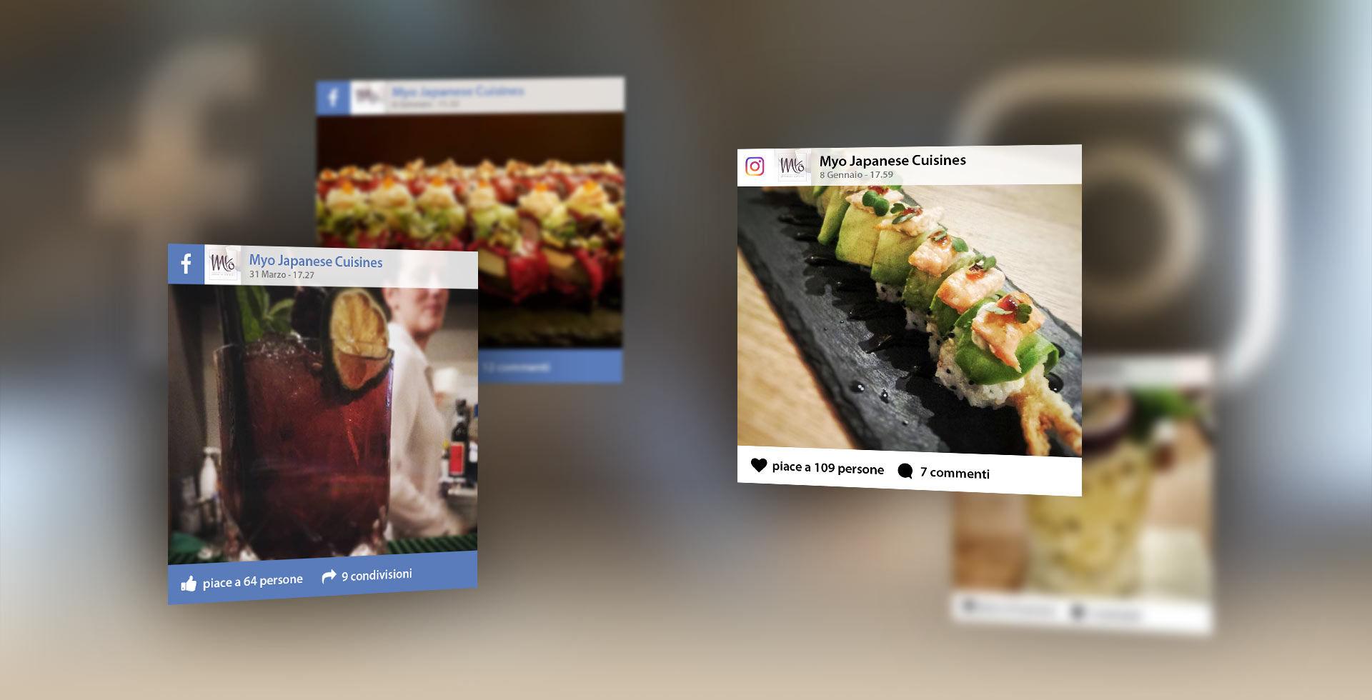 Gestione social media Myo Japanese Cuisine