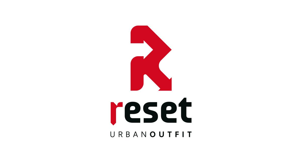 Studio e realizzazione logo Reset urban outfit
