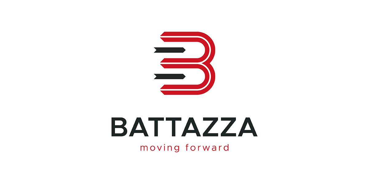 studio e realizzazione restyling logo Battazza