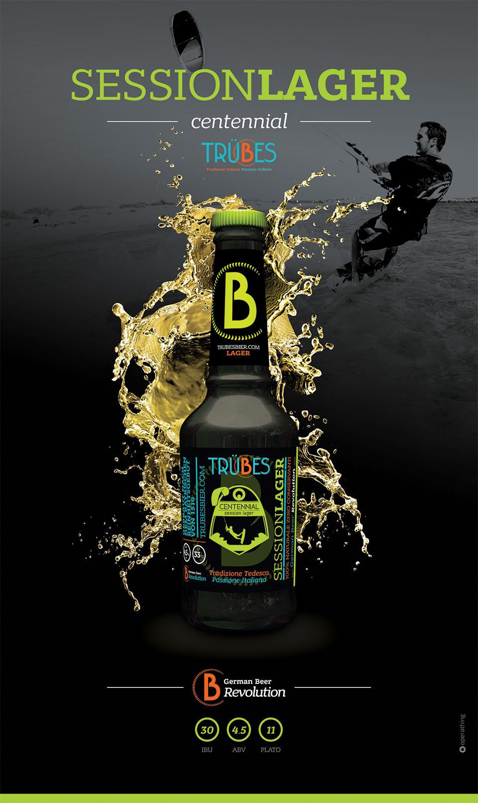 Progettazione packaging prodotti Trubes bier