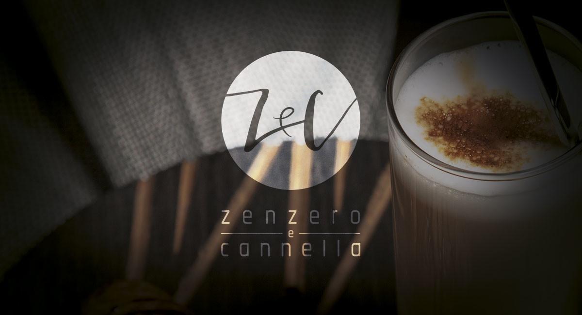 Realizzazione logo pasticceria caffetteria Zenzero e Cannella