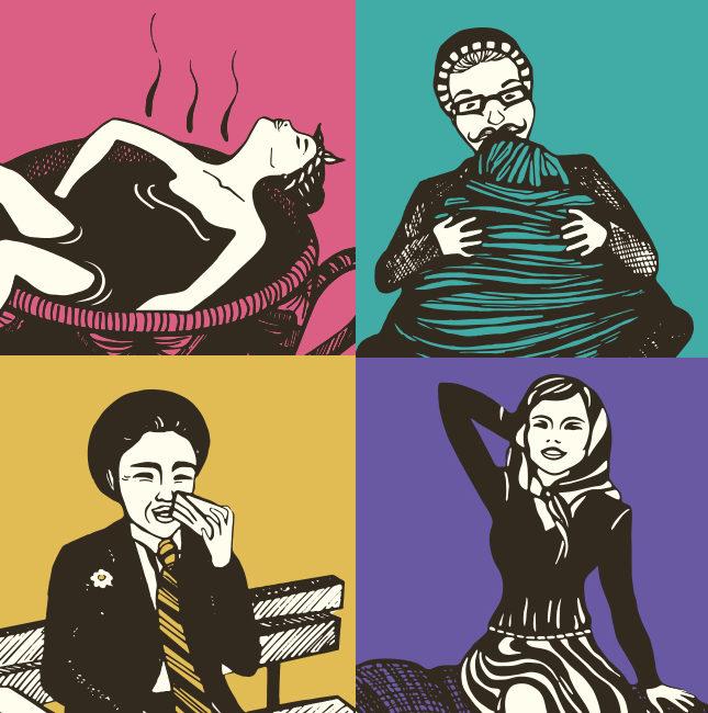 Illustrazioni personaggi Zenzero e Cannella