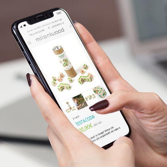 sviluppo sito web e-commerce milaniwood