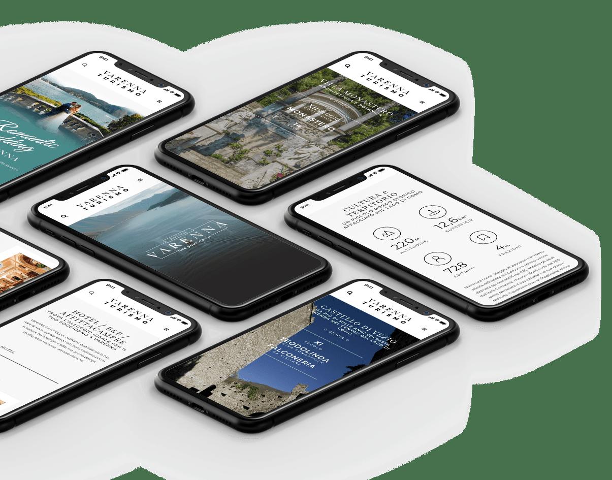 sviluppo e realizzazione sito Varenna Turismo