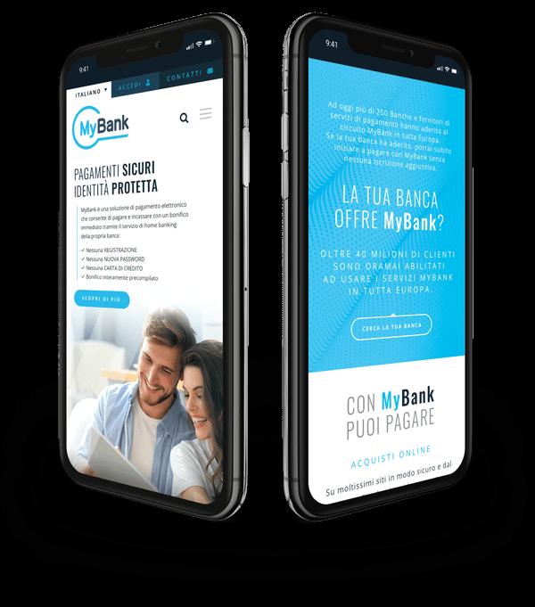 sviluppo e realizzazione sito web MyBank